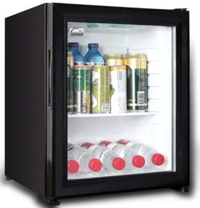 Orbita 30L No Compression Minibar Mini Bar Fridge Refrigerator with Black Door for Hotel pictures & photos