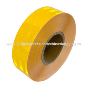 DOT Yellow Reflective Tape for Auto Car/Truck/School Bus Truck Trailer pictures & photos