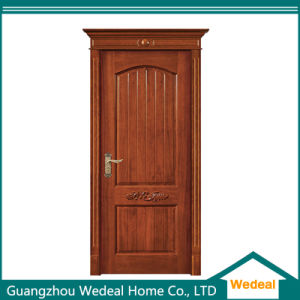 Wholesale Handcrafted Surface Solid Wood Door pictures & photos