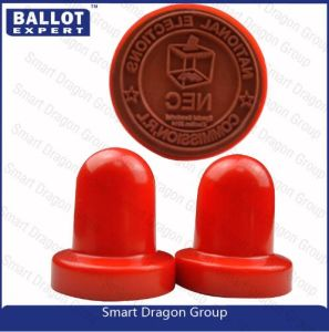 Custom High Quality Round Rubber Stamp For Election Marker And Sign Guangzhou Factory