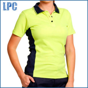 High Visibility Cooldry Short Sleeve Polo Uniform pictures & photos