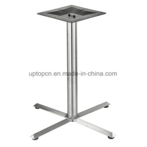 Furniture Part Strong Stainless Steel Restaurant Table Base (SP-STL003) pictures & photos