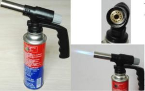 Micro Flame Mini Gas Cutting Butane Propane Piezo Ignition Blow Camping Welding Gas Torch pictures & photos