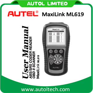 New Arrival Autel Ml619 Autolink OBD2 Code Reader SRS ABS Airbag Engine Diagnostic Tool Autel Maxilink Ml619 Best Price pictures & photos