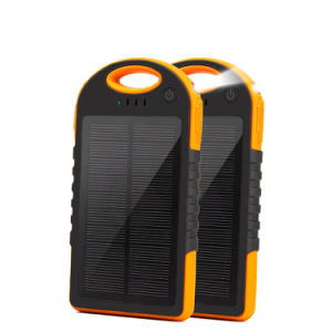 Solar Panel Power Bank 12000mAh for Xiaomi iPhone