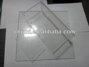 PMMA Clear Cast Acrylic Sheet with Low Water Absorption Laser Cutting Available