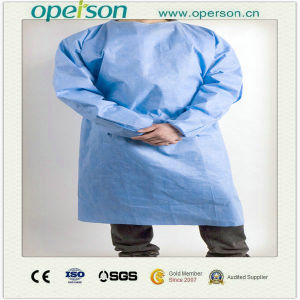 Disposable Nonwoven/SMS Surgical Gown with Different Size pictures & photos