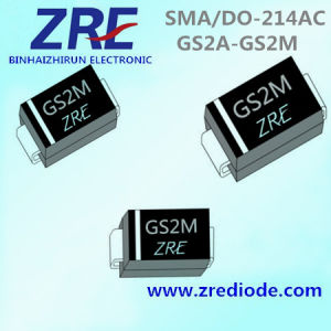 2A GS2a Thru GS2m General Purpose Rectifiers Diode SMA/Do-214AC Package pictures & photos