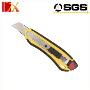 Automatic Utility Knife with Three Blades Blades Cutter Knives Retractable Utility Knife