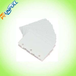 Cr80 Size*30mil Thickness Inkjeting 3 up Key Tag PVC Card