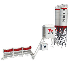 75cbm /H Price New Ready Mixed Mobile Concrete Batching Plant for Sale Hzs90V8 pictures & photos