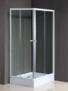 Sliding Glass Shower Doors with ABS Shower Base pictures & photos
