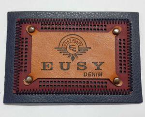 Wholesale Eco-Friendly Tests Approved Leather Label pictures & photos