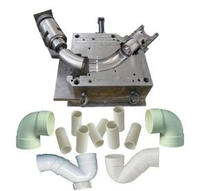 Plastic Injection Mold for Elbow Pipe pictures & photos