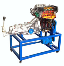 Motorcycle Engine Teaching Model Vehicle Workshop Technical Trainer Automobile Trainer