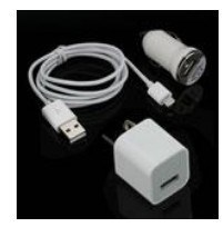 3 in 1 USB Charger for iPhone 5