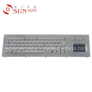 Kiosk Keyboard With Touchpad Made of Metal Keyboard