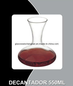 Crystal Clear Glass Decanter (H-808) pictures & photos