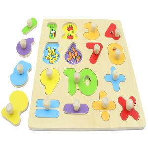 High Quality Childern Geometric Shape Jigsaw Wooden Puzzle