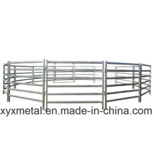 Portable Galvanized Rail Fence Planels for Horses pictures & photos