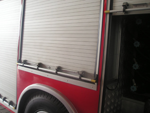 Rear Roll up Doors, Truck Shutter (104000)