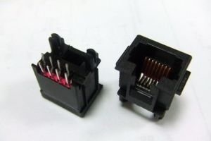 Top Entry PCB Jack, Cat. 5