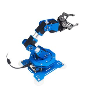 Lewansoul 2018 Technology Invention High Quality Robot Arm 6 Axis Arduino Kit Robotic Arm Arduino