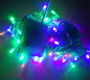 10m 100bulbs LED String Light Christmas Light Color Light with Connector