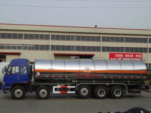Stainless Steel Fuel Tanker