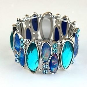 Wholesale Alloy Resin Stones Fashion Costume Jewelry Stretch Bracelet/Bangle pictures & photos