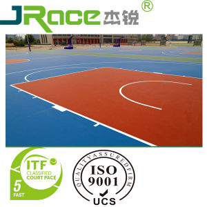 Rubber Outdoor Basketball Court Flooring Coating Sport Surface pictures & photos