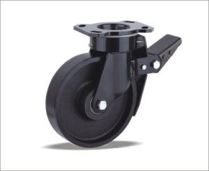 Swivel Caster With Cast Iron Wheel pictures & photos