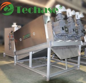 Techase Multi-Plate Screw Press for Sludge Dewatering & Wastewater Treatment pictures & photos