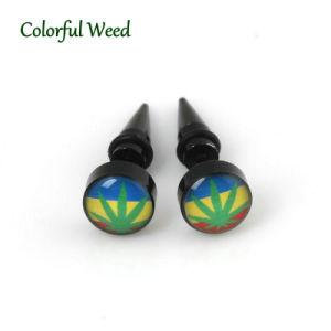 Weed Rasta Bob Marley Jamaica Ear Piercing