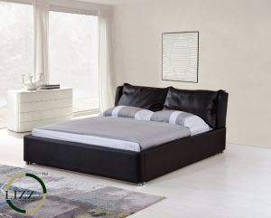 Latest Design Leather Bed with Adjustable Frame