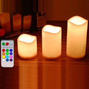 Christmas Flameless Candle with Remote Control LED Light pictures & photos