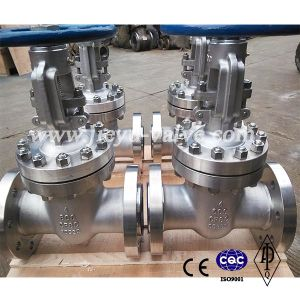 API CF8c/321 Stainless Steel Gate Valve 600lb 4inch pictures & photos