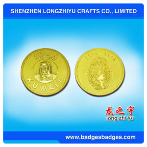 Zinc Alloy Die Casting Coin in Luxurious Style pictures & photos