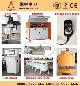 High-End CNC Waterjet Machine, 5-Axis Water Jet Cutting Machine with SGS, CE, ISO pictures & photos