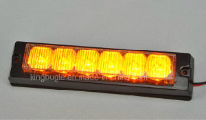 Fire Truck Tir 6W Amber LED Warning Light Head (GXT-6 amber) pictures & photos