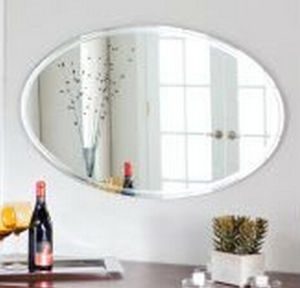 Round Shape Decorative Bathroom Silver Mirror pictures & photos