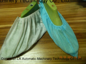Non Slip Shoe Cover Making Machine pictures & photos