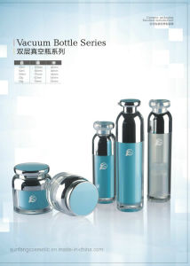 Qf-027 Beautiful in Colors Cosmetic Packaging Vacuum Bottle