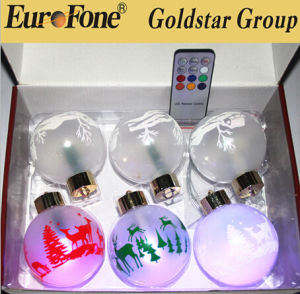 China Supplier Outdoor Christmas Hanging AA Battery Ball Light for Wedding and Holiday Decoration pictures & photos