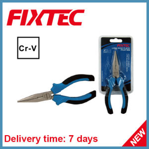 "Fixtec Hand Tool 6"" 160mm CRV Long Nose Plier pictures & photos"