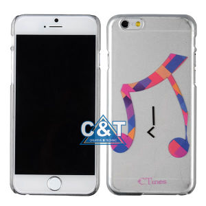 Clear Hard Crystal Mobile Phone Case for iPhone 6 Plus