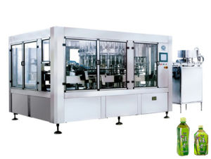Fully Automatic Carbonated Drinks Bottle Washing Filling and Capping Machine pictures & photos