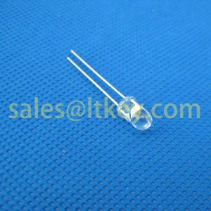 5mm Round Blue LED Lamp with Water Clear Case pictures & photos