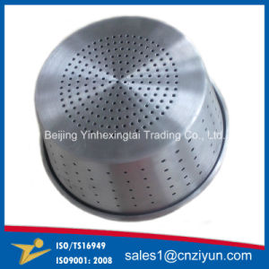 Aluminum Spinning Forming with Punching Holes pictures & photos