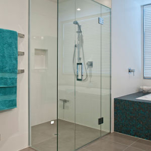 Tempered Interior Modern Shower Sliding Glass Door with AS/NZS2208: 1996, BS6206, En12150 Certificate pictures & photos